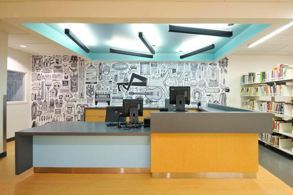 Marie Uguay Public Library-VAD