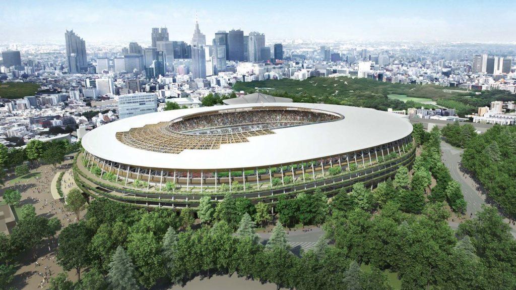 Tokyo 2020 Olympic Stadium by Kengo Kuma and Associates