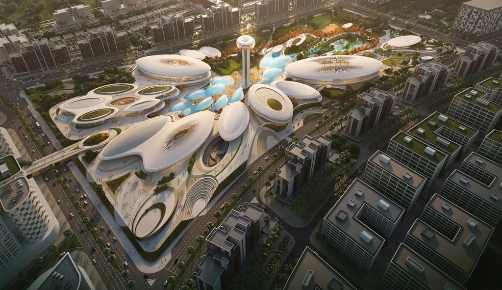 aljada centralhub_zaha hadid architects